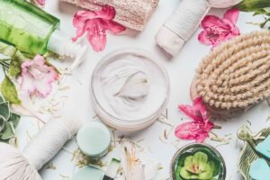 hand cream extract from flower